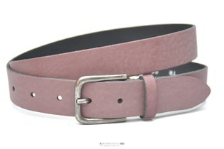 3cm bordeaux rode riem - jeans / pantalon riem Take-it bor480TB