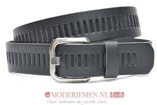 4cm zwarte riem / jeansriem - riem zwart Timbelt zw427tb