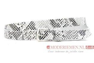 2cm dames riem met slangenprint snake62001PB