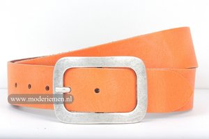 4cm jeans riem oranje or420