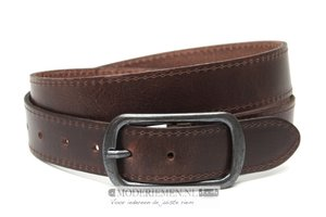 3,5cm bruine riem - jeans / pantalon riem bruin br352