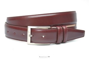 3,5cm pantalon riem bordeaux bor350am