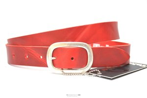 3cm rode riem - jeans riem rood Take-it ro455TB