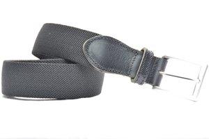 3,5cm elastische riem zwart zw350elasTB