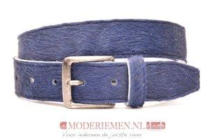 4cm jeans riem koebont blauw koe408blauw