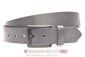 4cm grijze riem - jeans riem grijs gr40602am
