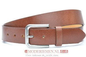4cm cognac  riem - jeans riem cognac co40601am
