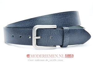 4cm grijze  riem - jeans riem grijs gr40601am