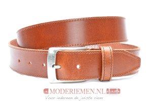 4cm cognac riem - jeans riem cognac volnerf leder Timbelt co622-1TB