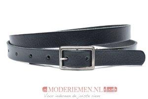 2cm smalle dames riem zwart zw203