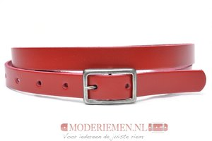 2cm smalle rode riem - riem rood ro203