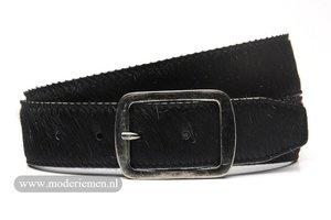 4,5cm jeans riem koebont zwart koezw453