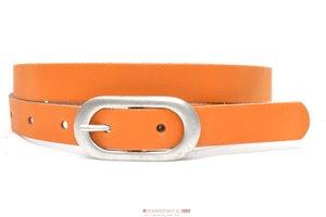 2cm dames riem oranje or205