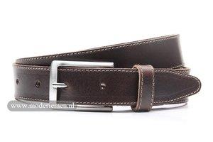 3,5cm bruine pantalonriem br351be