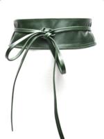 8 cm brede dames riem groen Unleaded