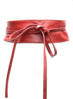 8 cm brede dames riem rood Unleaded