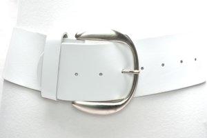 8cm brede dames riem wit van het merk Take-it wit804TB