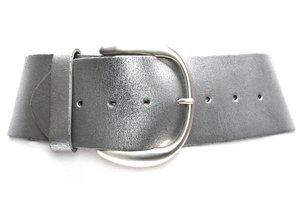 8cm brede dames riem zilver van het merk Take-it zilver804TB