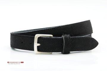 3,5cm jeans riem koebont zwart koezw354