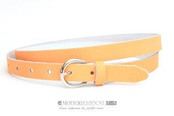 2cm oranje riem - dames riem oranje pastel orp210