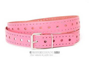 3cm fuchsia roze riem - dames riem fuchsia roze roze300
