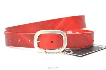 3cm rode riem - jeans riem rood Take-it ro455TB