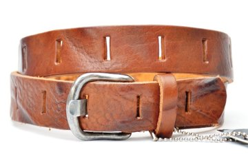 3cm kinderriem cognac Take-it kco210tb