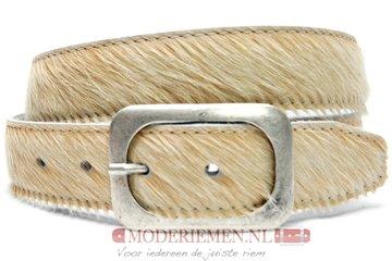4cm jeans riem koebont beige koe405bei