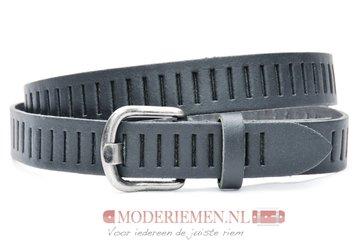 3cm zwarte riem / jeans - pantalon riem zwart Timbelt zw426tb