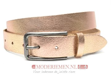 3cm rose riem - dames riem rose 408TB