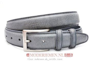 3,5cm grijze riem - pantalon riem grijs grijs309/9402/35