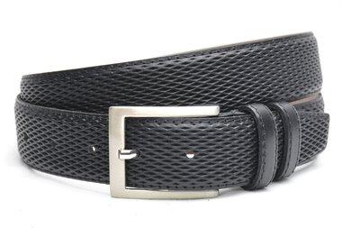 3,5 cm pantalon riem zwart 3503