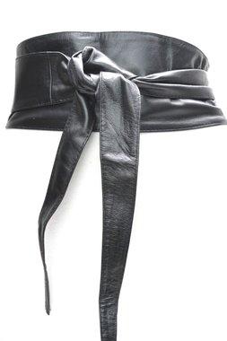 10 cm knoopriem zwart U10