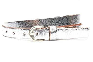 2 cm smalle zilveren riem U20934