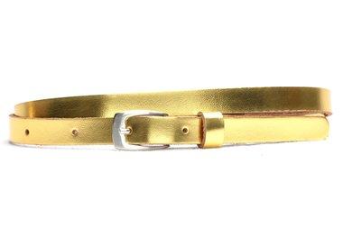 1,5 cm smalle riem goud 155