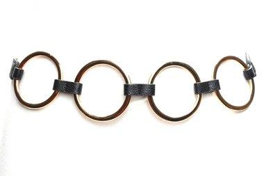 elastische tailleriem ringen zwart OY98