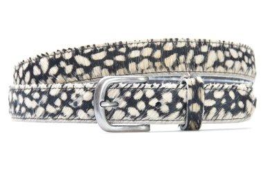 3 cm dames riem cheetah 30254