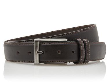 3,5 cm bruine pantalon riem 35577