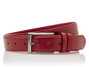 3,5 cm rode pantalon riem 35577