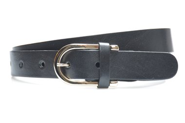 3cm dames riem zwart 30911