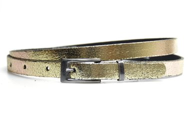 1,5 cm smalle riem goud 435