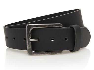 4cm zwarte riem - jeans riem zwart Timbelt zw421Timbelt