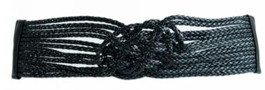7 cm tailleriem zwart 242