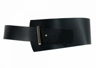 10 cm tailleriem zwart 10039