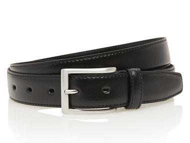 3 cm zwarte pantalon riem 507