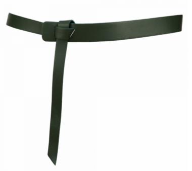 3 cm knoopriem groen 30919