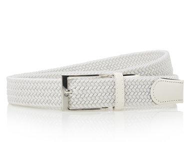3,5cm witte elastische riem TBe