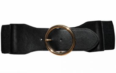 7,5 cm tailleriem zwart 20759