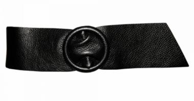 8 cm tailleriem zwart 80213