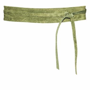 5 cm knoopriem groen 80212